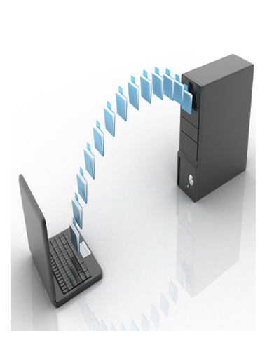 Salva de datos